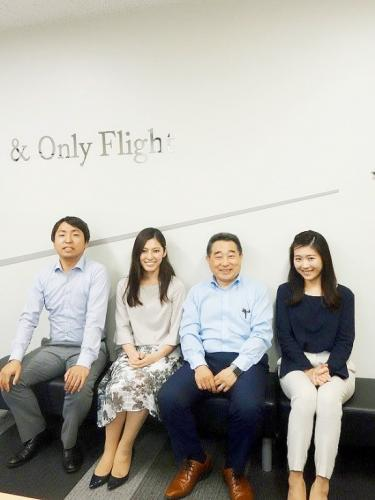 プライベートジェット機の運航支援業務