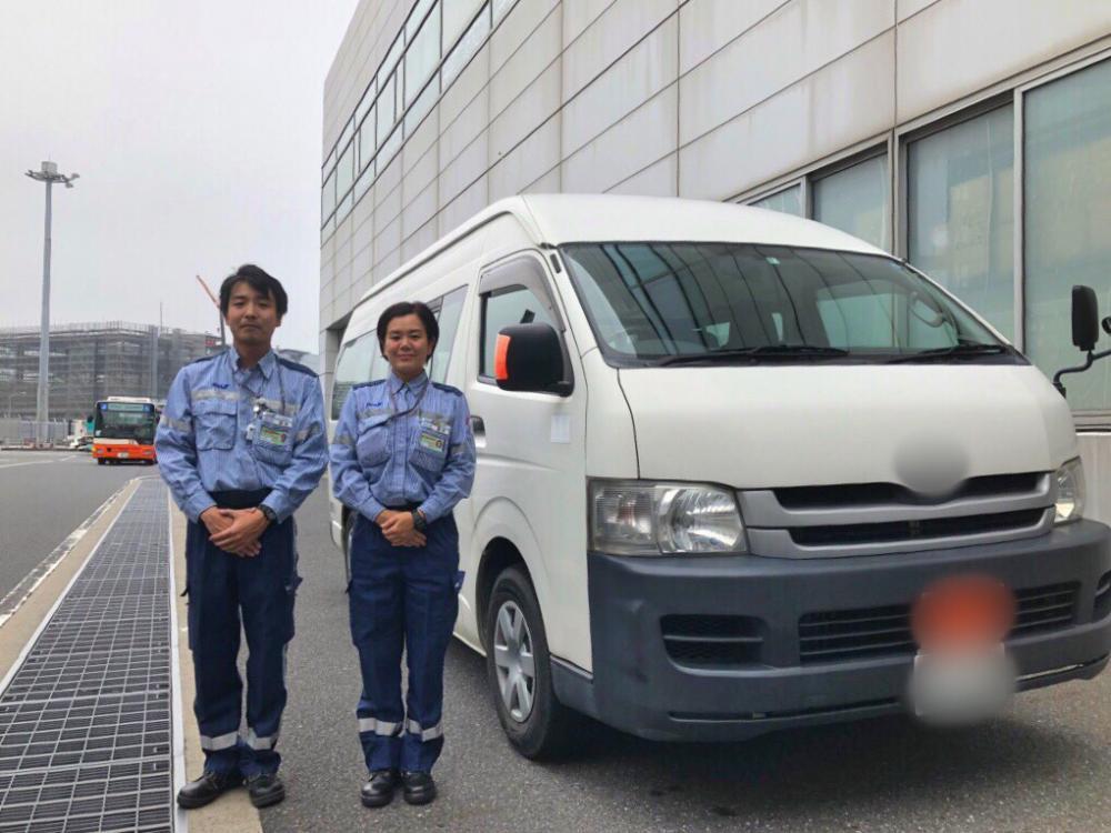 40名募集・未経験可*羽田空港でANAグループ従業員の送迎