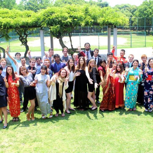 30ヵ国以上の留学生が1つのキャンパスで共に学ぶ!