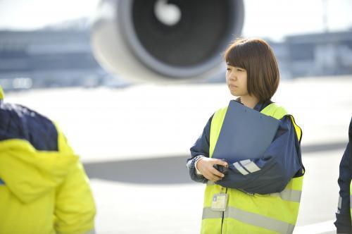 成田空港の安定企業で活躍、ランプスタッフ募集!