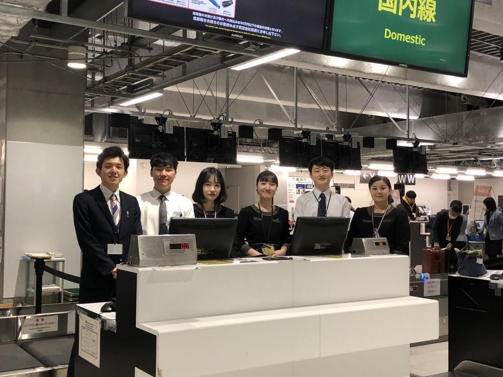 成田空港の安定企業で活躍、旅客業務急募!