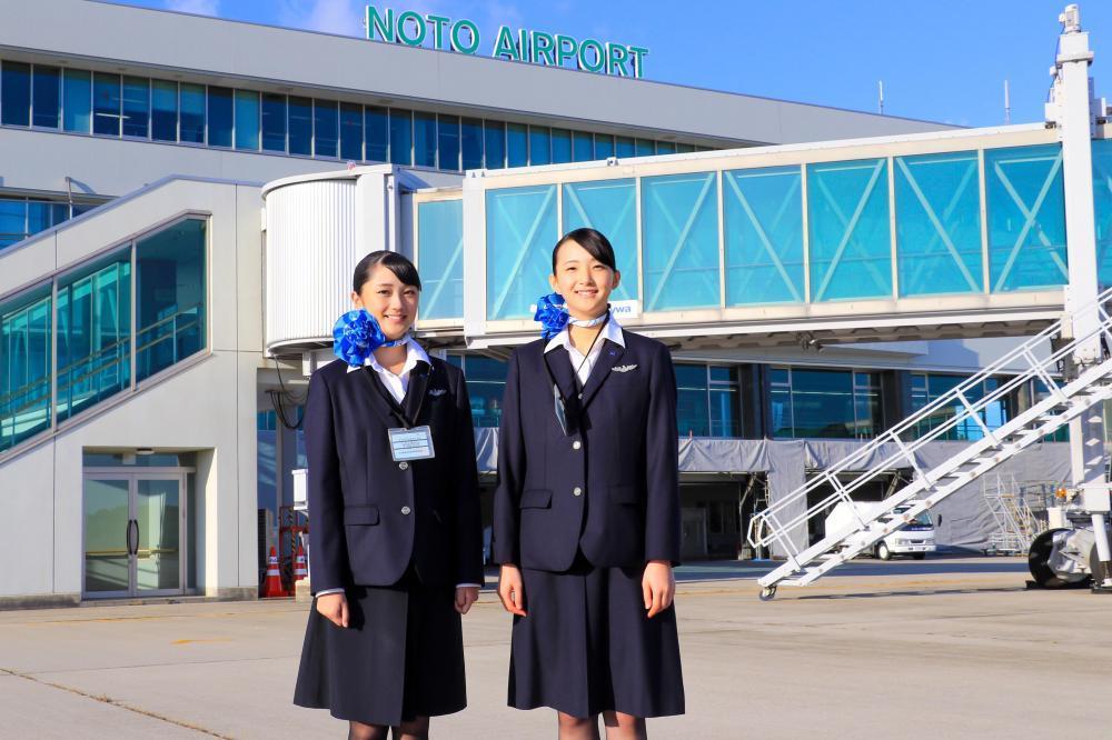 「能登の空が私のキャンパス」日本航空高等学校 能登空港キャンパス